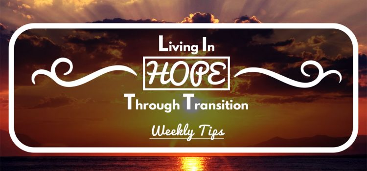 Living in HOPE Through Transition – March 21, 2017